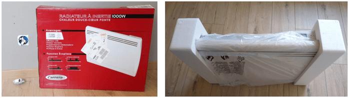 Test Du Radiateur à Inertie Fonte Cayenne Conseils Thermiques