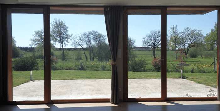 isolation maison vitrée
