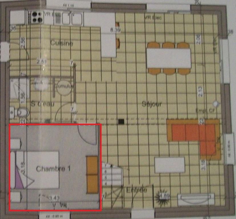 Plan De La Ville De Conty