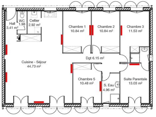 bilan nergtique maison cool ne pas oublier de couper le courant avant toute with radiateur. Black Bedroom Furniture Sets. Home Design Ideas