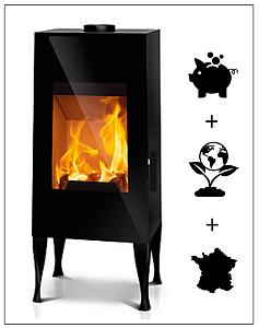 guide du chauffage au bois conseils thermiques. Black Bedroom Furniture Sets. Home Design Ideas