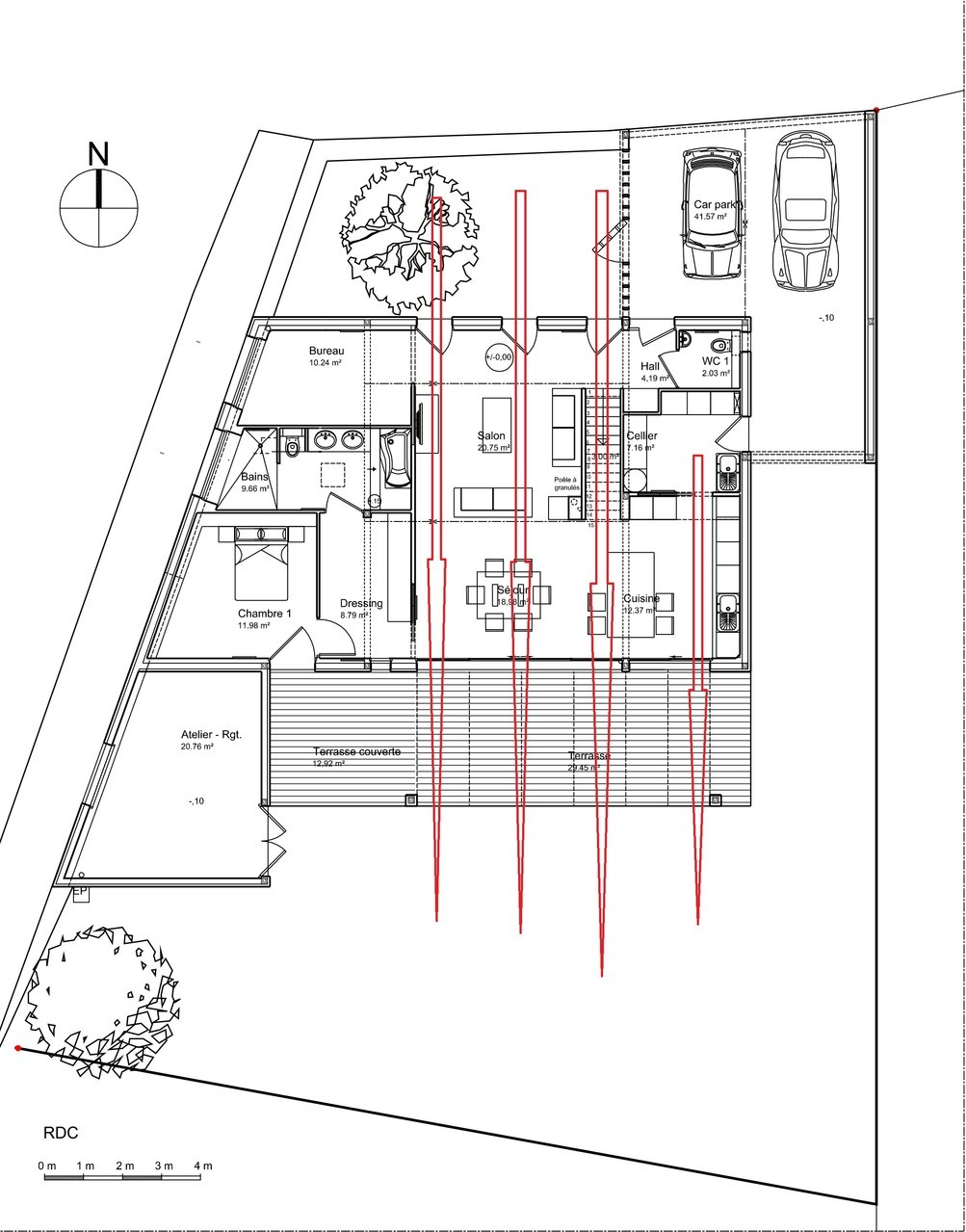 dessiner des plans fonctionnels conseils thermiques. Black Bedroom Furniture Sets. Home Design Ideas