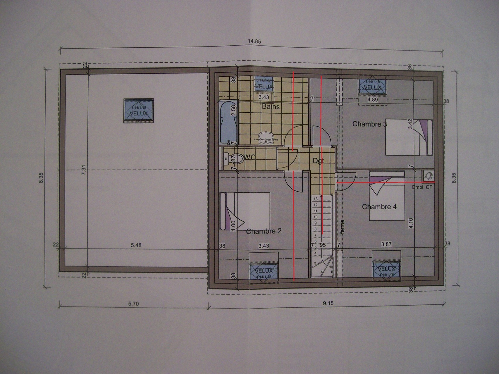 faire un plan d appartement en ligne circulation plan maison circulation ...