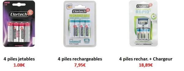 comparative financial rechargeable disposable batteries