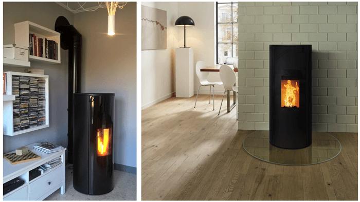 test du po le granul s rika corso conseils thermiques. Black Bedroom Furniture Sets. Home Design Ideas