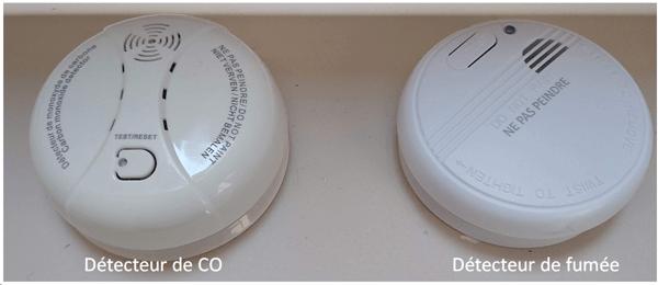 détecteur fumée et monoxyde de carbone