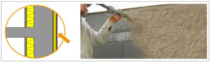 Papier peint isolant thermique stunning mthode decoller - Decoller peinture plafond ...
