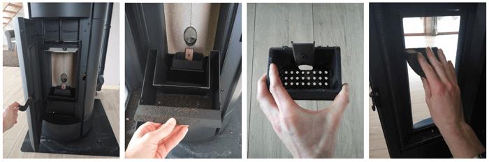 Test Du Poêle à Granulés Freepoint Globe De Leroy Merlin