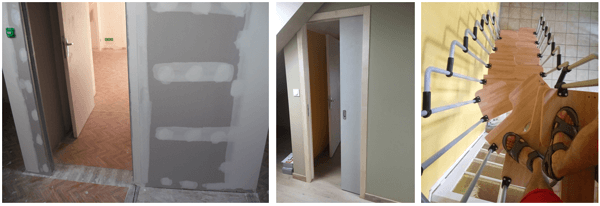 renovation maison ancienne escalier pas japonais