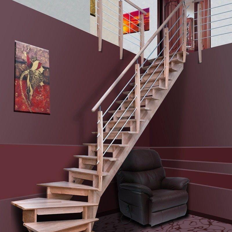 Prix d 39 un escalier pos conseils thermiques Escalier quart tournant haut pas cher