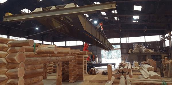 Good Fabrication Maison En Rondin En Atelier