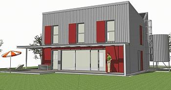 Une maison passive au prix de 10€ du m² - Conseils Thermiques