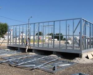 Comparatif des mat riaux de construction conseils thermiques for Ossature acier