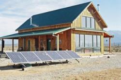 panneaux solaires photovoltaïques non intégrés au bâti installation au sol
