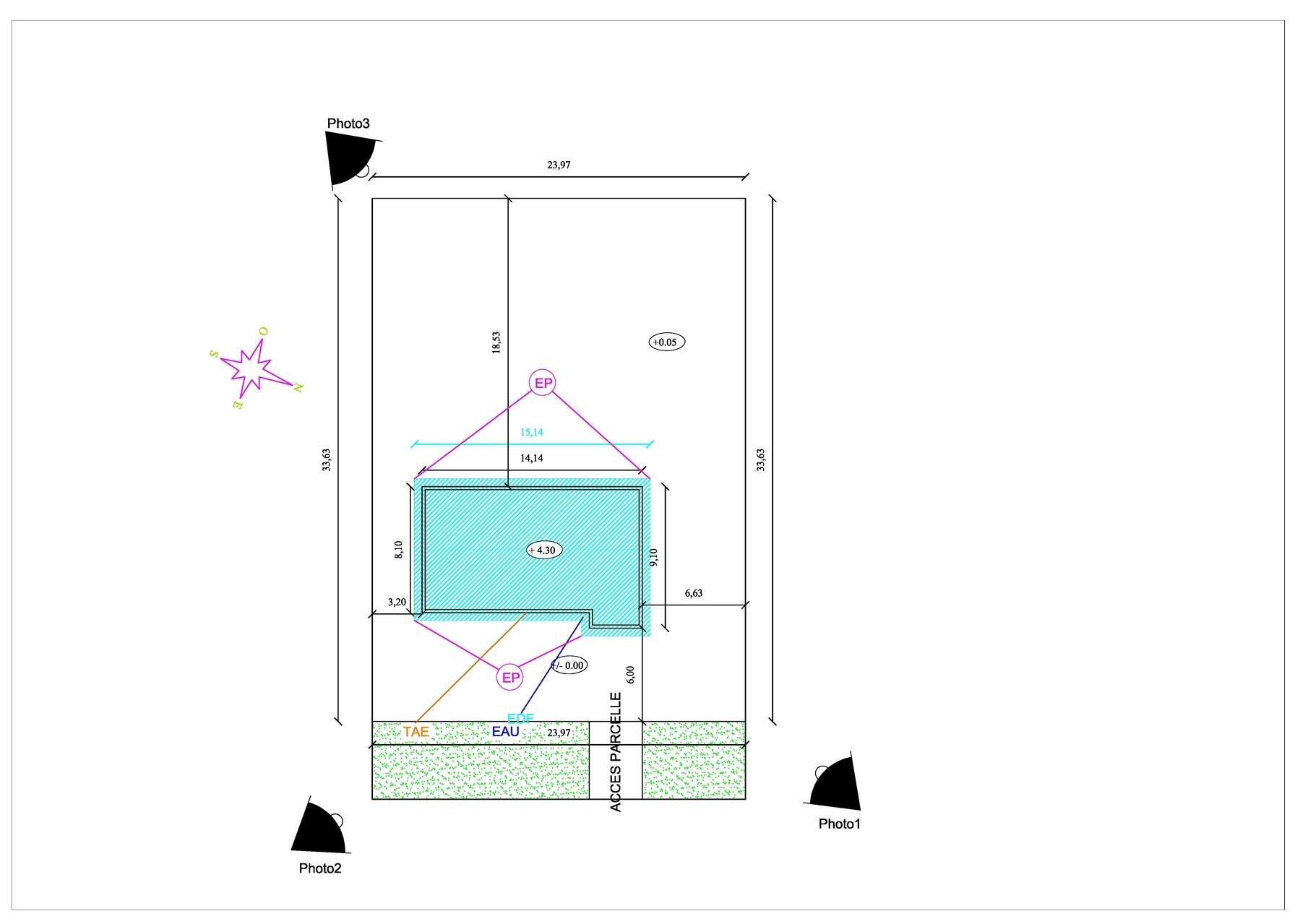 Construire sa maison hauteur en limite de propriete for Agrandissement maison en hauteur