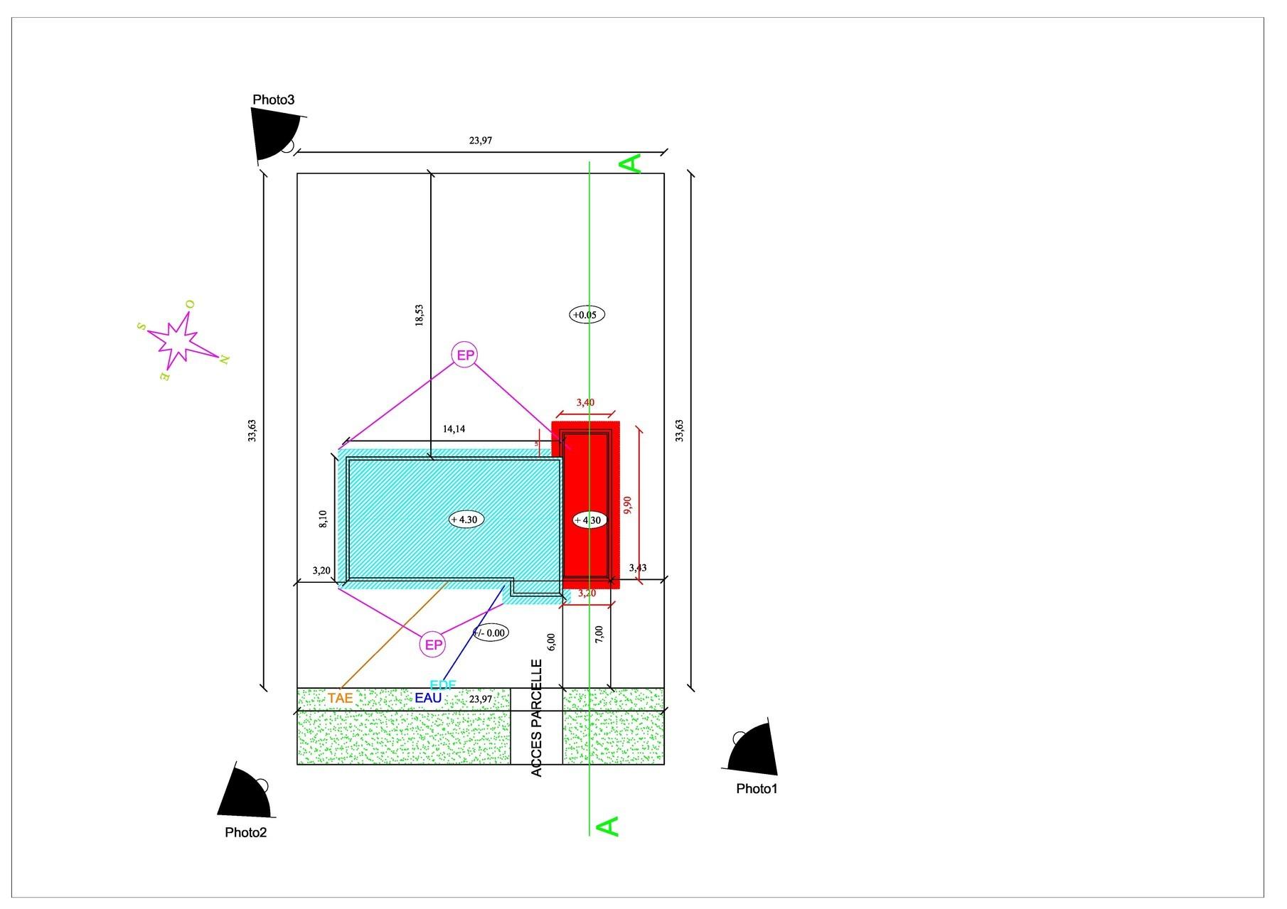 extension maison permis de construire 10 de halls et pieds jg dessin pour permis de construire. Black Bedroom Furniture Sets. Home Design Ideas