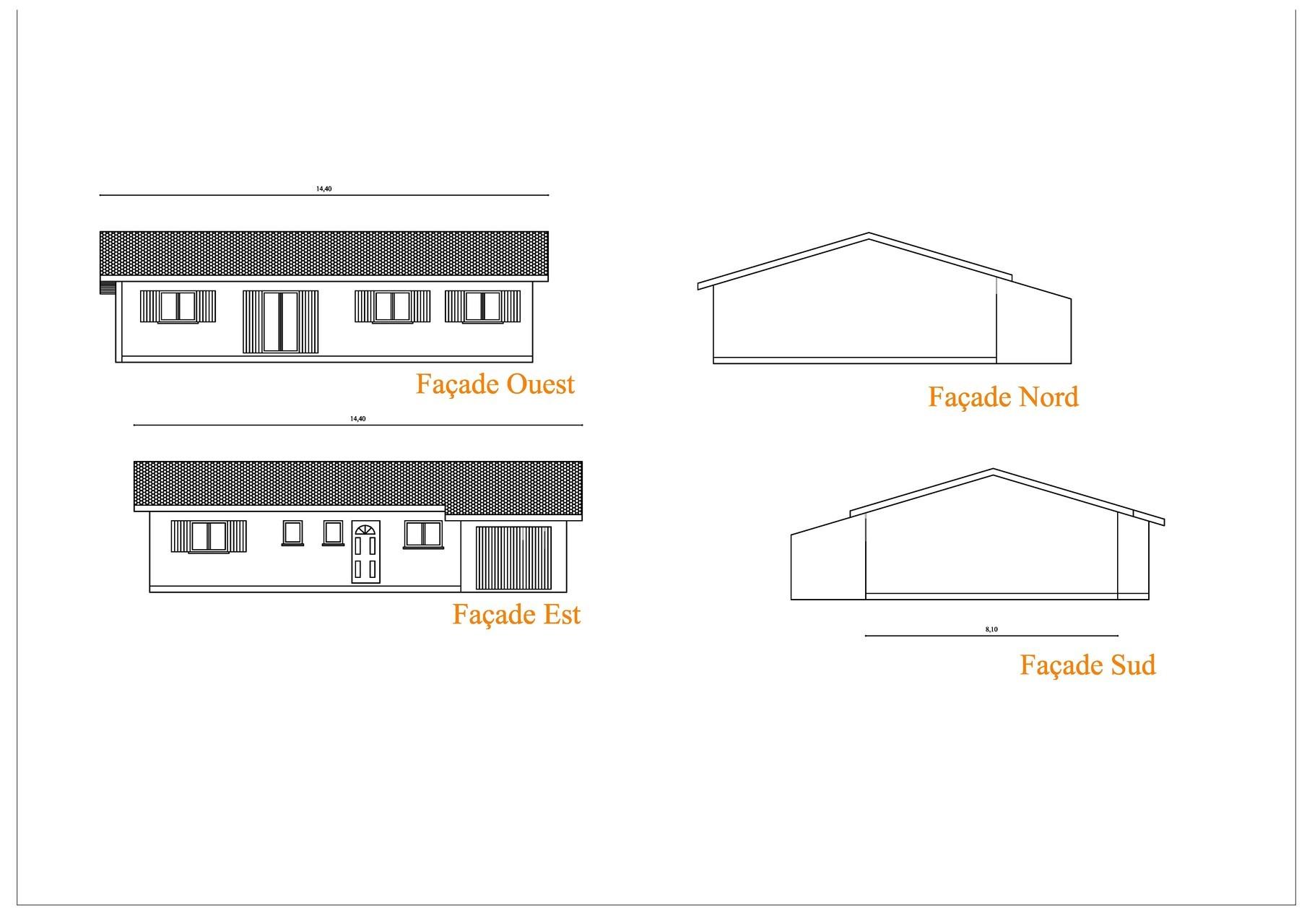 Permis construire maison plan de masse exemple dossier - Demande de permis de construire garage ...