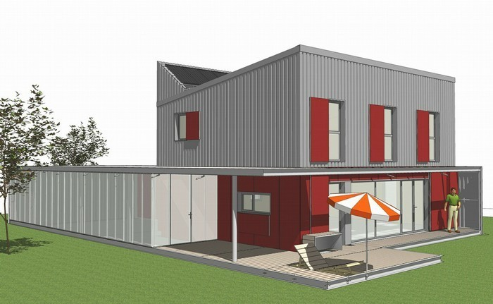 Prix d une maison bbc de 100m2 chauffage rt2012 for Prix maison architecte 100m2