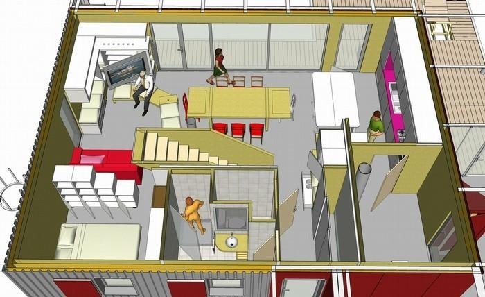 plan maison bioclimatique architecte - Construire Une Maison De 100m2