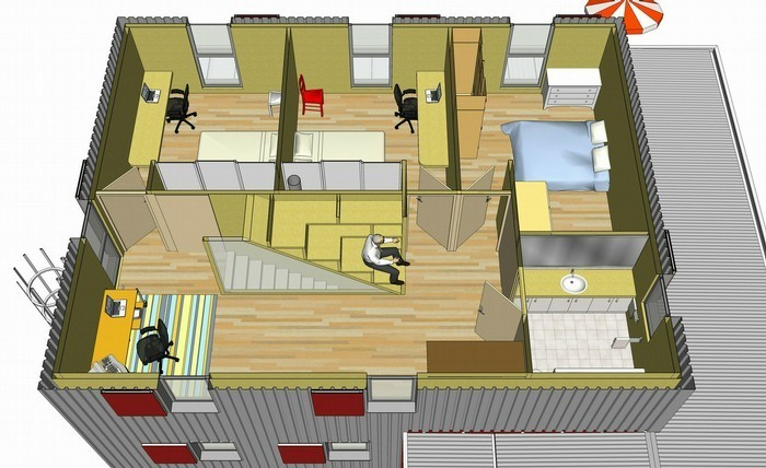 Plan Pour Construire Maison. Affordable Plan De Maison M Pices With