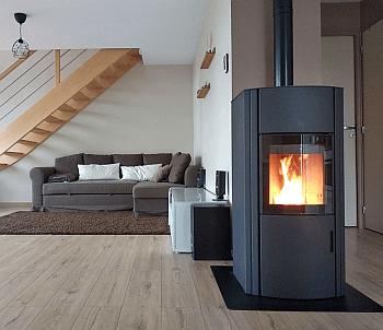 test du po le austroflamm polly le charme du bois avec. Black Bedroom Furniture Sets. Home Design Ideas