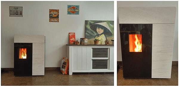 test poêle à granulés rika domo - conseils thermiques