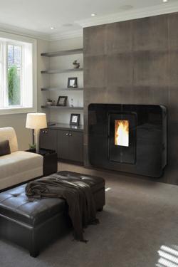 test du po le granul s thermorossi slimquadro conseils thermiques. Black Bedroom Furniture Sets. Home Design Ideas
