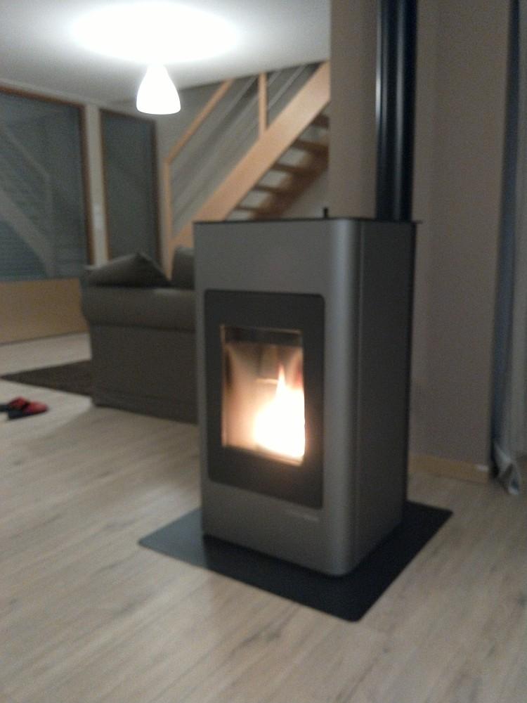 test des po les granul s hsp et hsp premium conseils thermiques. Black Bedroom Furniture Sets. Home Design Ideas
