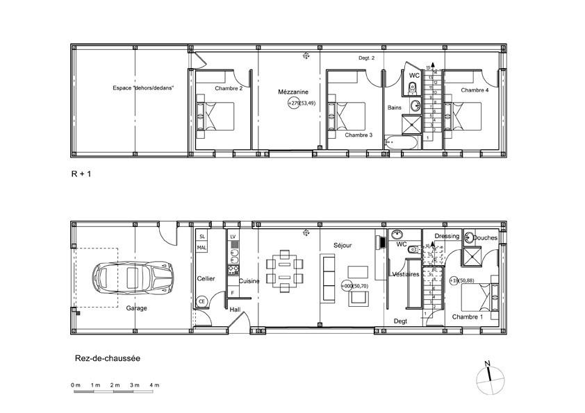 le bioclimatisme un concept cl pour construire sa maison conseils thermiques. Black Bedroom Furniture Sets. Home Design Ideas