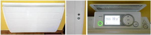 changement des radiateurs électriques dans une maison ancienne en rénovation