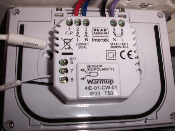 La r gulation du chauffage par thermostat d 39 ambiance programmable conse - Warmup plancher chauffant ...