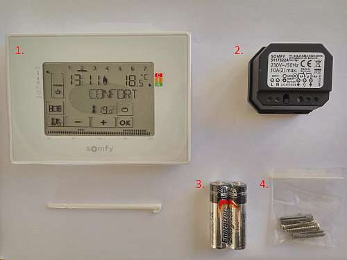 Raccorder le thermostat programmable