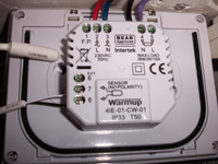 Test du smart thermostat warmup 4ie wifi conseils thermiques - Robinets thermostatiques programmables ...
