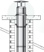 cheminée granule